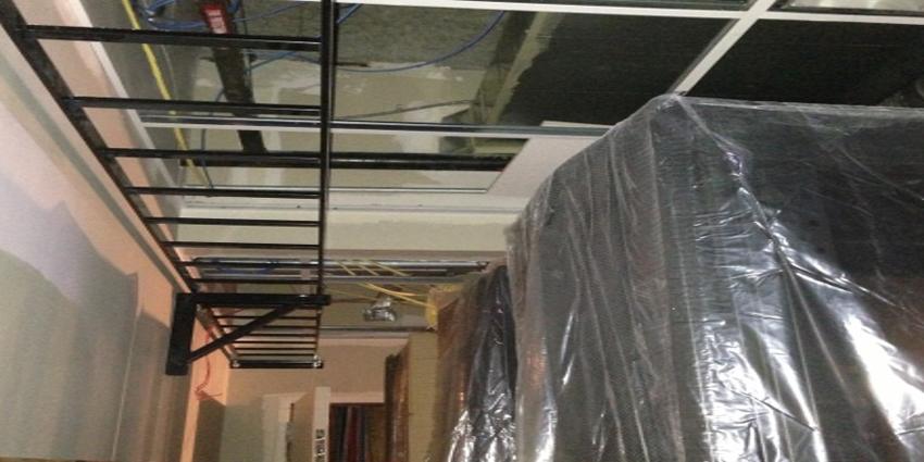 Data Closet U2013 Ladder Rack U0026 Sleeve Install